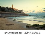view of the jaffa in tel aviv... | Shutterstock . vector #324466418