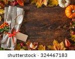 Thanksgiving Autumn Place...