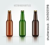 Blank Glass Beer Bottle For Ne...