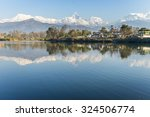 Lake Phewa In Pokhara  Nepal ...