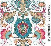 elegant hand drawn vector... | Shutterstock .eps vector #324509630