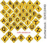 illustration vector of alphabet ... | Shutterstock .eps vector #324513440