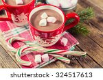 Cup Of Hot Chocolate With...