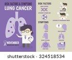 infographics cartoon character... | Shutterstock .eps vector #324518534