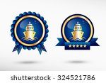 ship icon stylish quality... | Shutterstock .eps vector #324521786