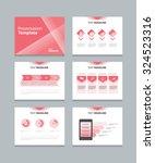 presentation  template  slides... | Shutterstock .eps vector #324523316