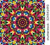 bright seamless kaleidoscope...   Shutterstock .eps vector #324541493