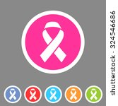 ribbon icon flat web sign... | Shutterstock .eps vector #324546686