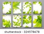 set of brochure  poster...   Shutterstock .eps vector #324578678