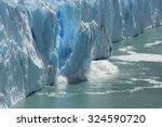 climate change   antarctic... | Shutterstock . vector #324590720