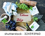 cheese shop | Shutterstock . vector #324593960