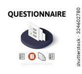 questionnaire icon  vector...