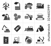 black different kind of... | Shutterstock .eps vector #324602999