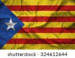 catalonia flag. illustration | Shutterstock . vector #324612644