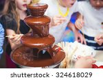 vibrant picture of chocolate... | Shutterstock . vector #324618029