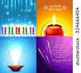 vector collection of beautiful... | Shutterstock .eps vector #324666404