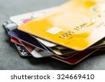 credit cards for  payment ...   Shutterstock . vector #324669410