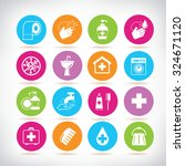 personal hygiene icon set | Shutterstock .eps vector #324671120