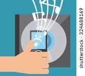 music lifestyle design  vector... | Shutterstock .eps vector #324688169