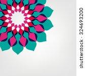flower vector background... | Shutterstock .eps vector #324693200