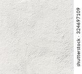Stucco White Wall Background O...