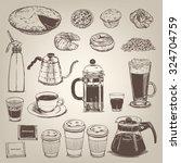 Coffee Shop Vintage Design...