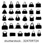 bags vector set | Shutterstock .eps vector #324709724