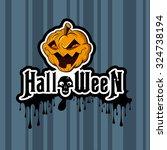 halloween  | Shutterstock .eps vector #324738194