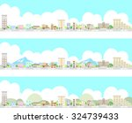 urban landscape | Shutterstock .eps vector #324739433