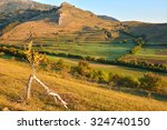transylvanian landscape | Shutterstock . vector #324740150