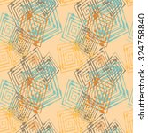 seamless pattern with abstract... | Shutterstock .eps vector #324758840