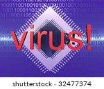 virus protection | Shutterstock . vector #32477374