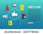 premium quality home appliances ... | Shutterstock .eps vector #324778463