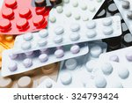 Colorful Pill Packs