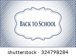 Back To School Poster Or Banner