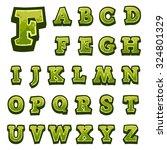 green stone game alphabet