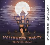 halloween party. | Shutterstock .eps vector #324802244