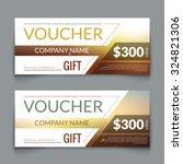 discount voucher market design...   Shutterstock .eps vector #324821306