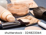 makeup products and accessories ... | Shutterstock . vector #324823364