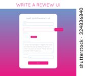 web design template write a...