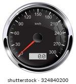 speedometer. illustration... | Shutterstock . vector #324840200