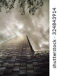 financial buildings in madrid | Shutterstock . vector #324843914