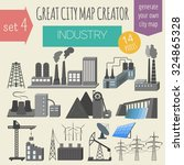 great city map creator. house... | Shutterstock .eps vector #324865328