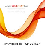 abstract colored waves on a... | Shutterstock .eps vector #324885614