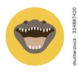 crocodile   | Shutterstock .eps vector #324887420