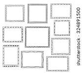 Photo Frames Doodle Sketch ...