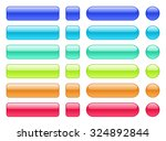 set of colored web buttons.... | Shutterstock .eps vector #324892844