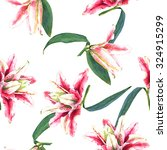 seamless floral pattern of... | Shutterstock . vector #324915299