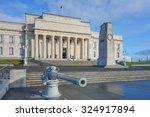 War Memorial Museum With Quote...