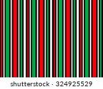 christmas stripes | Shutterstock . vector #324925529